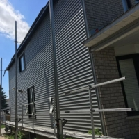 Ottawa Eavestrough Soffit, fascia, and siding in downtown Ottawa
